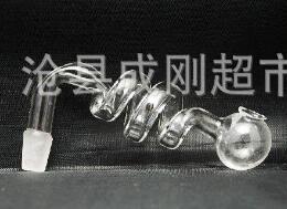 Asado de olla de vidrio espiral