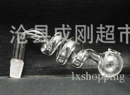 Rôti de verre en spirale