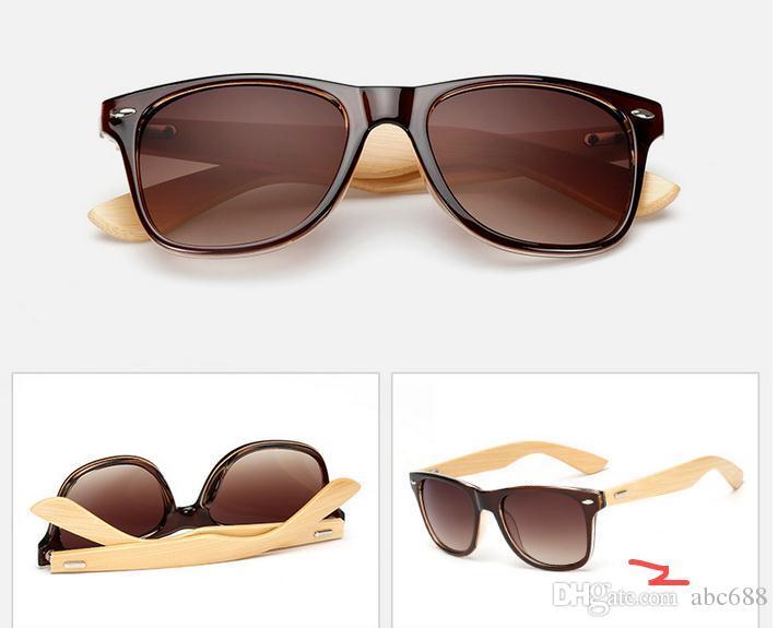 Ralferty Retro Óculos De Sol De Madeira De Bambu Das Mulheres Dos Homens Designer Esporte Óculos de Proteção Espelho De Ouro Óculos De Sol Tons de luneta oculo