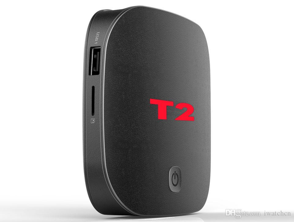 T2 Rockchip RK3229 Quad core 4K Smart Android 7.1 TV Stream Box 2GB/16GB Thousands Daily Updated Movies & TV Shows Free Lifetime