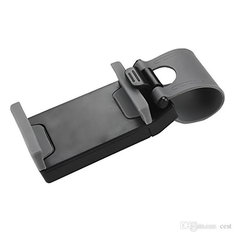 2017 Universel De Voiture Berceau Support De Téléphone Portable Clip De Voiture Support De Support De Vélo Support de Téléphone Flexible s'étendent à 86mm pour i7