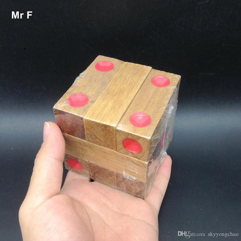 Funny Assembled Dice Block Cube Wooden Toys Kids Gifts Educational Early Learning Games Child Christmas Gift