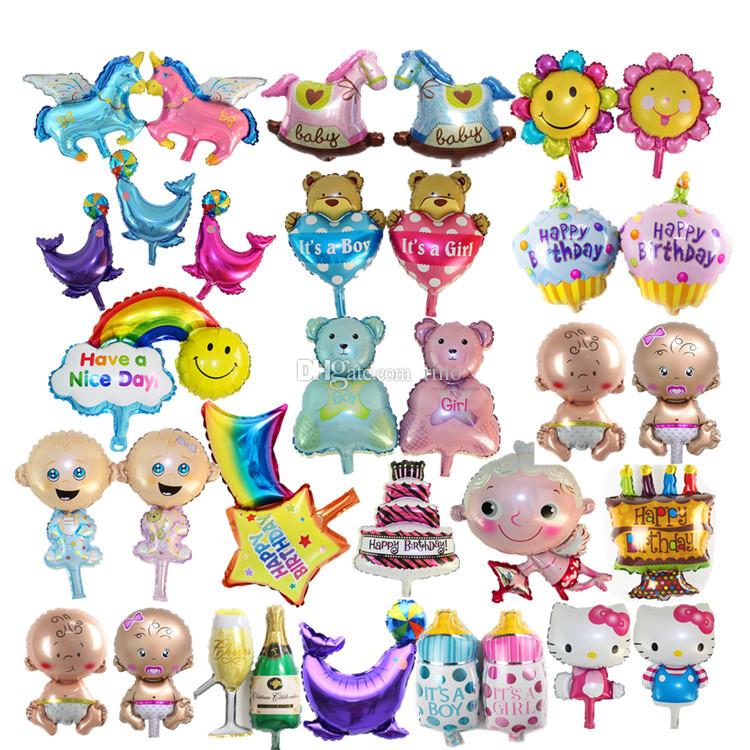 Helium Foil Balloons Wholesale Baby Kids ballons Birthday Party Decoration 14 inch Balloons for Party Decor for birthday