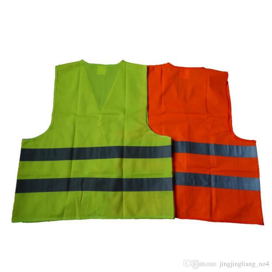 Safety Security Visibility Reflective Vest Warning Green Orange Safety Vest Construction Safety Working Vest Traffic Vests OOA2970