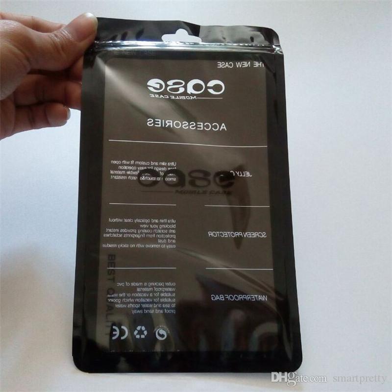 Universalhandy-Kleinpaket-Zipverschluß-Satz-Speicher-Kopfhörer-Einkaufen-leerer Plastikfall-Zusätze OPP-BEUTEL für iphone 6 7