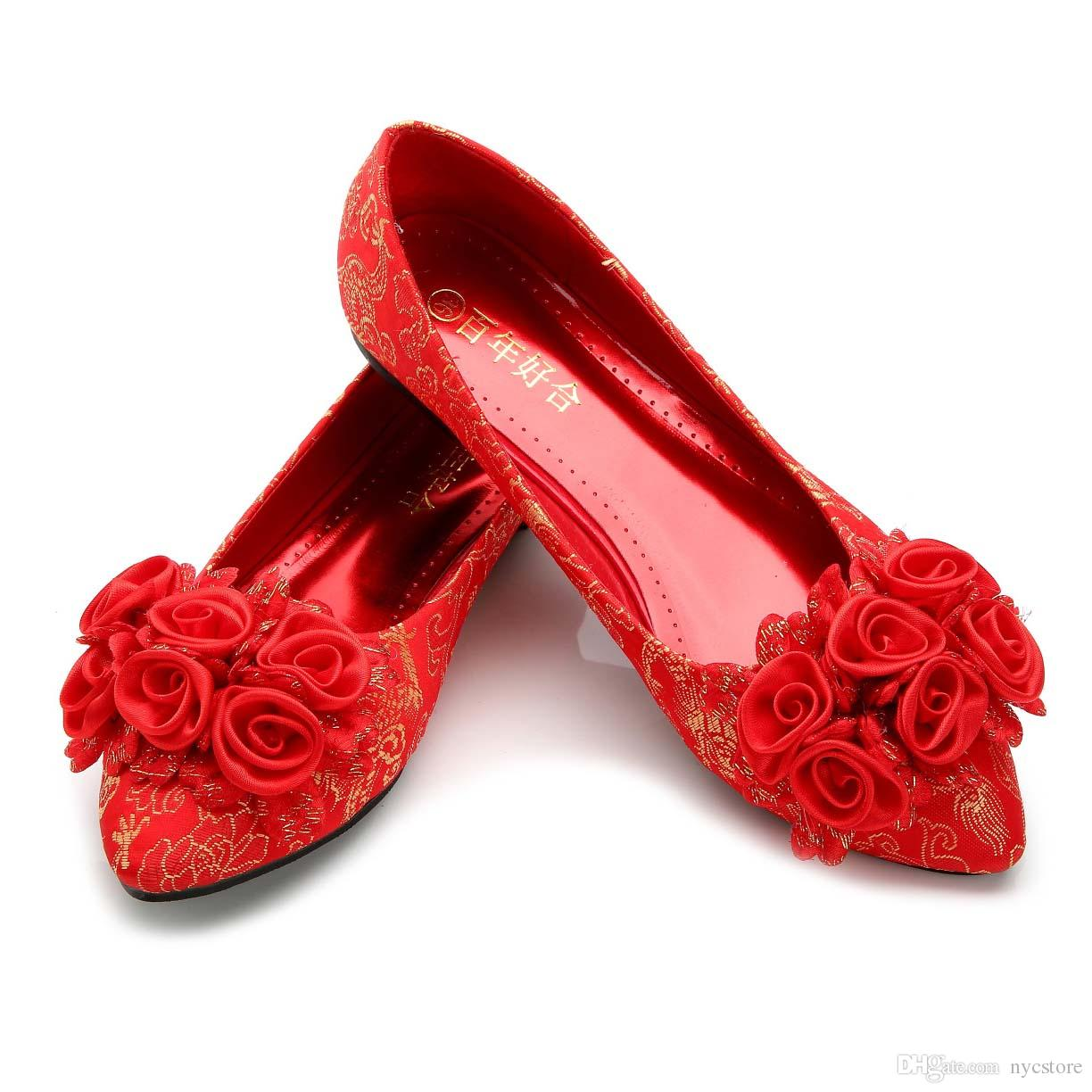 red shoes for wedding plus size wedding shoes high heels bridal 7011