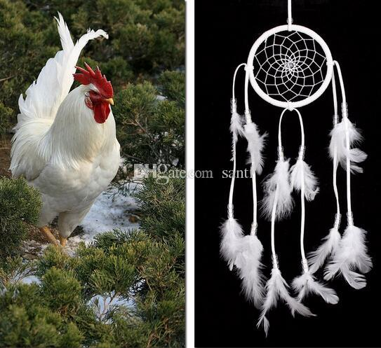Hot Handmade Indian Dream Catcher Net with Feathers Wind Chimes Wall Hanging Dreamcatcher Craft Gift