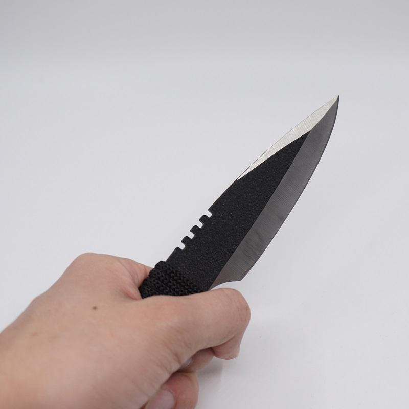 3 Teile / satz Tauchermesser Magic Scorpion Bowie Messer Outdoor Kleine Gerade Messer edelstahl Feststehende Klinge Full Tang Überlebensmesser Kit