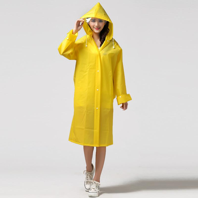 2017 Fashion Light Girls Women'S Women Long Sleeve Rain Coat Rain ...