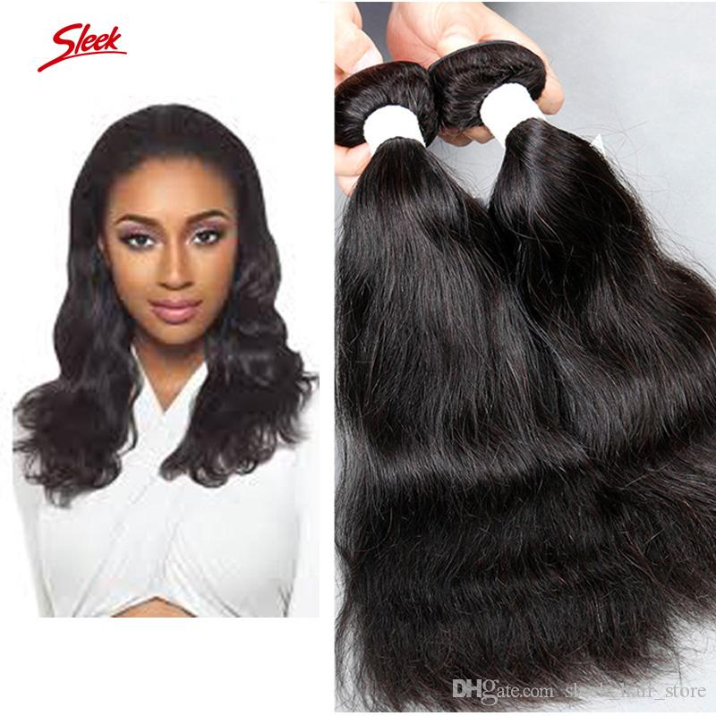Sleek Brand Brazilian Hair Extensions Dyeable Natural Wave Human