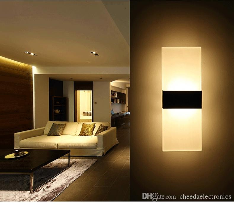 modern wall lights for living room. 2018 Modern Design High Quality Led Wall Lamp 6w Warm White For  Hall Corrider Bedside Hotel Sitting Room Bedroom Reading From Cheedaelectronics