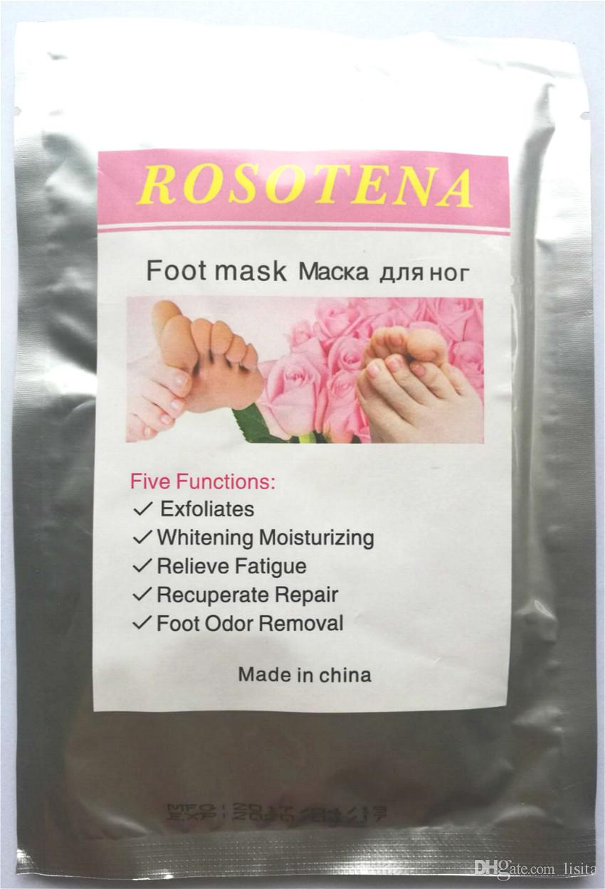 50bags Exfoliating Foot/Feet Mask Foot Care Pedicure Socks Feet Peeling Feet Mask Foot Care Socks For Pedicure Sosu Baby Feet