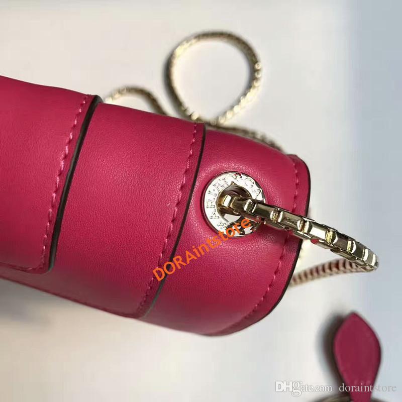 Nouveau mode femmes sac à bandoulière printemps défilé de mode même type bijoux serpenti série sac en cuir sac à bandoulière