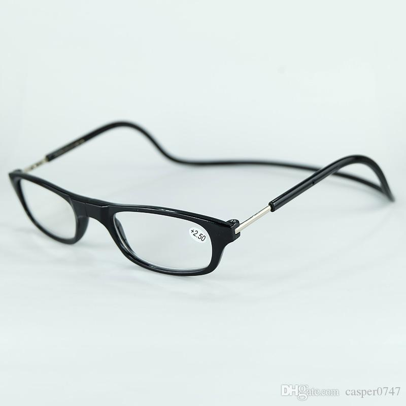 Clic Resin Reading Glasses Slim Magnet Frame With Far-sighted Power ...
