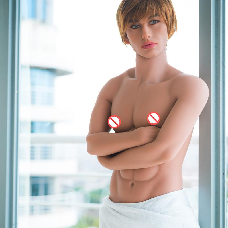 160 cm gay male sex dolls realistic,silicone love doll penis,real men mannequins,can standing Muscle strong men,2-holes oral sex