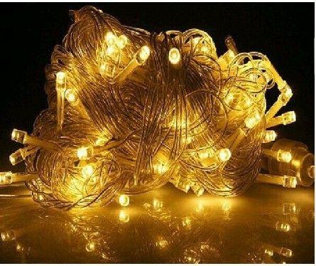 دافئ أبيض 30M 300 LED سلسلة الإضاءة 110V الزفاف الجنية أضواء عيد الميلاد في الهواء الطلق وميض أضواء شجرة الديكور لحفلة رأس السنة الجديدة