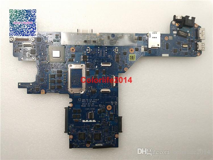 I3-2350M LA-7741P CN-08Y86X 8Y86X Para la placa madre de la placa madre de una computadora portátil Dell E6430S Totalmente probado Funcionamiento perfecto