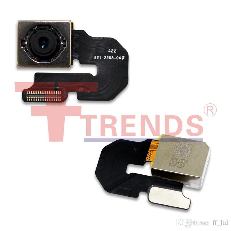 Para iPhone 6 Original novíssimo Voltar conjunto de câmera traseira virada para Big Camera substituição gratuita DHL Shipping