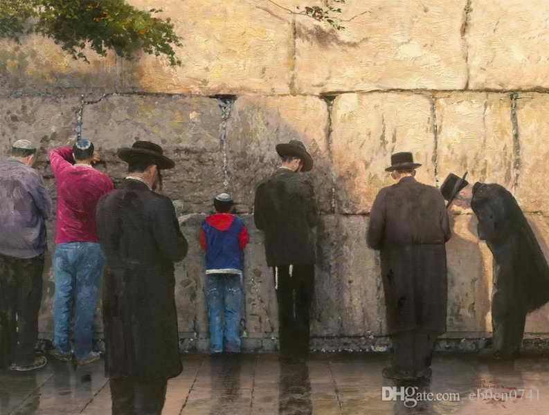 Compre El Muro De Las Lamentaciones Jerusalén Thomas Kinkade ...