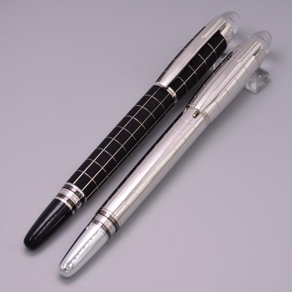 New Starwaker Black And Silver Metal Roller Ball Pen School Office Stationery Supplies Luxury Brand Writing Cute Gel Pens