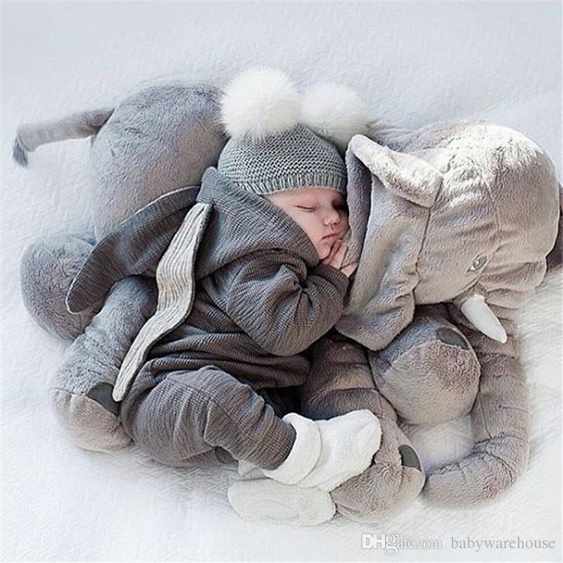 Infante recém-nascido roupa do bebé Menino bonito Ear Coelho 3D Romper Macacão playsuit Outono-Inverno do bebê macacãozinho roupas uma peça roupa dos miúdos
