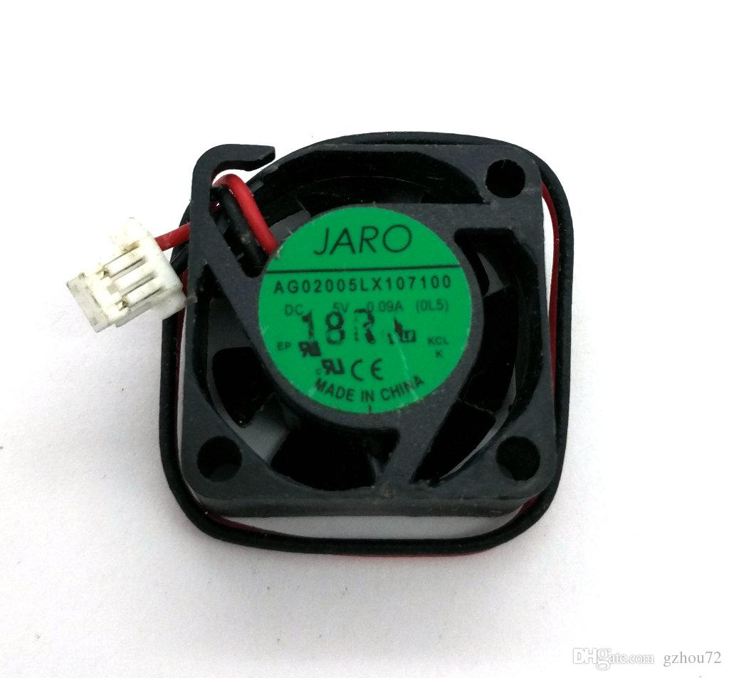 New Original JARO AG02005LX107100 2CM 20*20*10MM 5V 0.09A small mute cooling fan