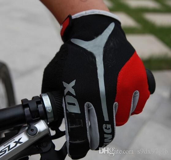 Brand Cycling Gloves Full Finger Bicycle Gloves Bike Gel Pad Racing Biking Long Gloves guantes ciclismo luva guantes