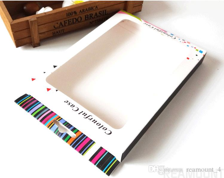 Großhandel personalisiert anpassen Papier Verpackungsbox für Apple Pad Mini 2 3 Tablet Ledertasche Verpackungsboxen
