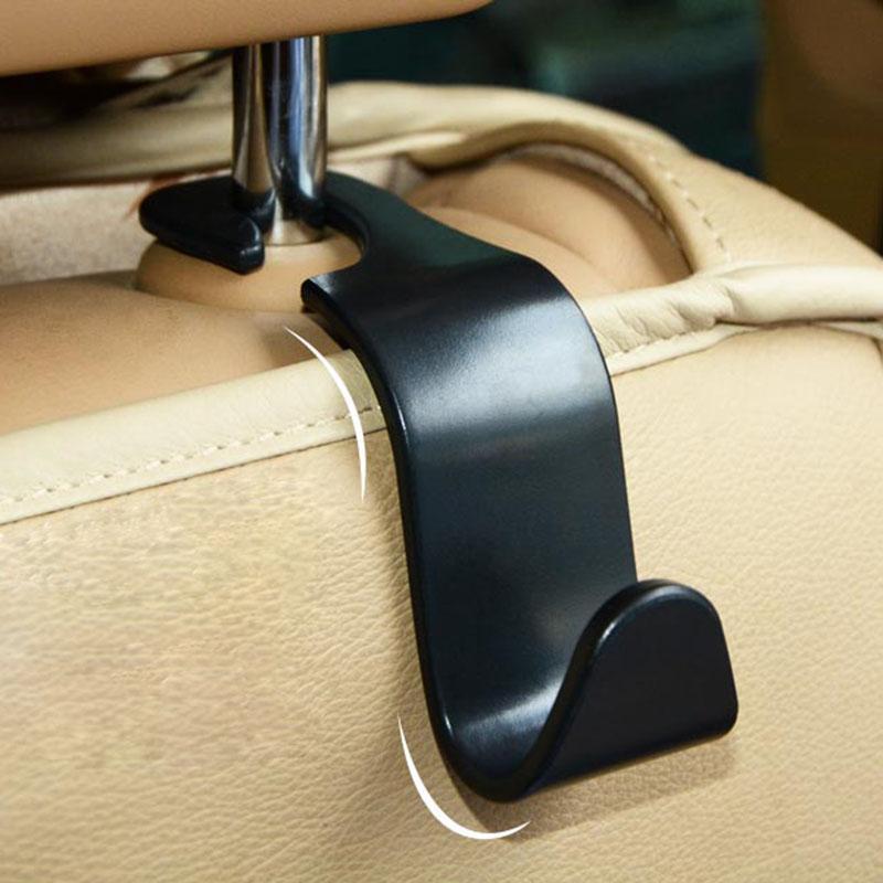 4 X Creative Car Seat Back Hooks Hangers Organizer Universal Headrest Mount Storage  Hooks House Storage Simple Styling Back Hangers Organizer Online With ...