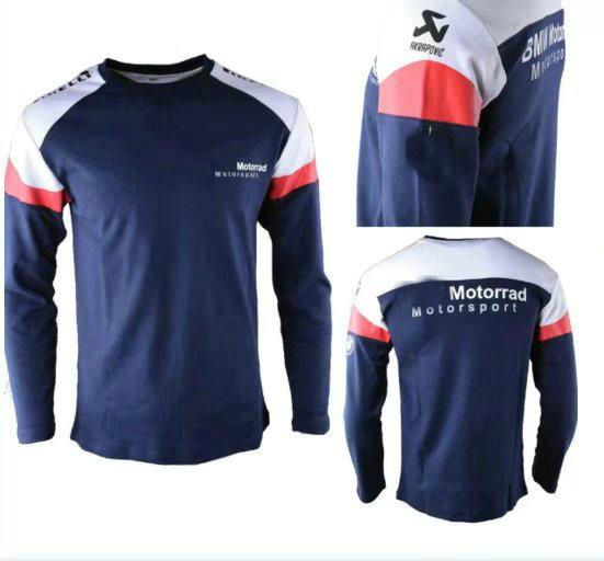 Free Shipping 2019 Tyco For Bmw Motorrad Tas Racing Bsb Long Sleeve T Shirt
