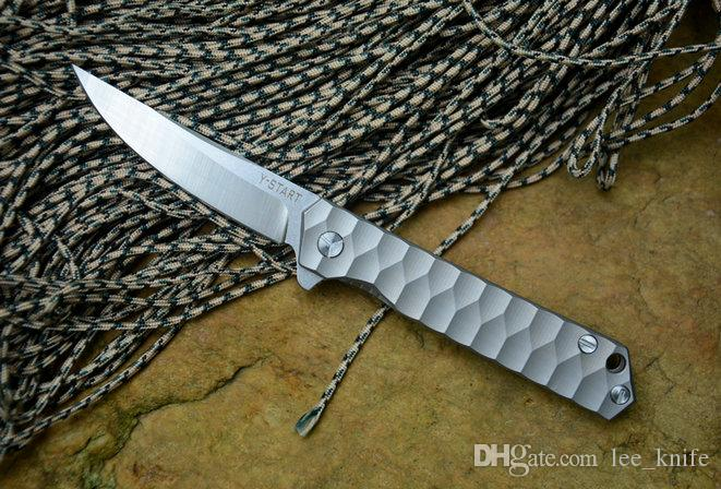 2017 Più Nuovo versione Vento Y-START guerriero pieghevole coltello di pietra lavaggio A161 A162 A163 campeggio coltello da caccia pieghevole coltello 1 pz