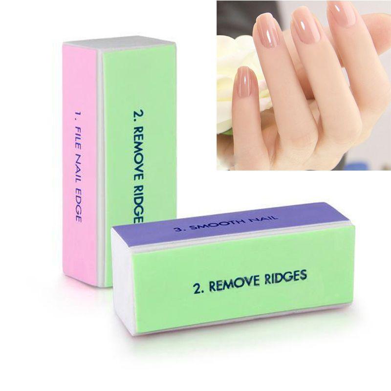 Nail Art Polisher Manicure Nail Art Tips Sanding Polish Buffer Block ...