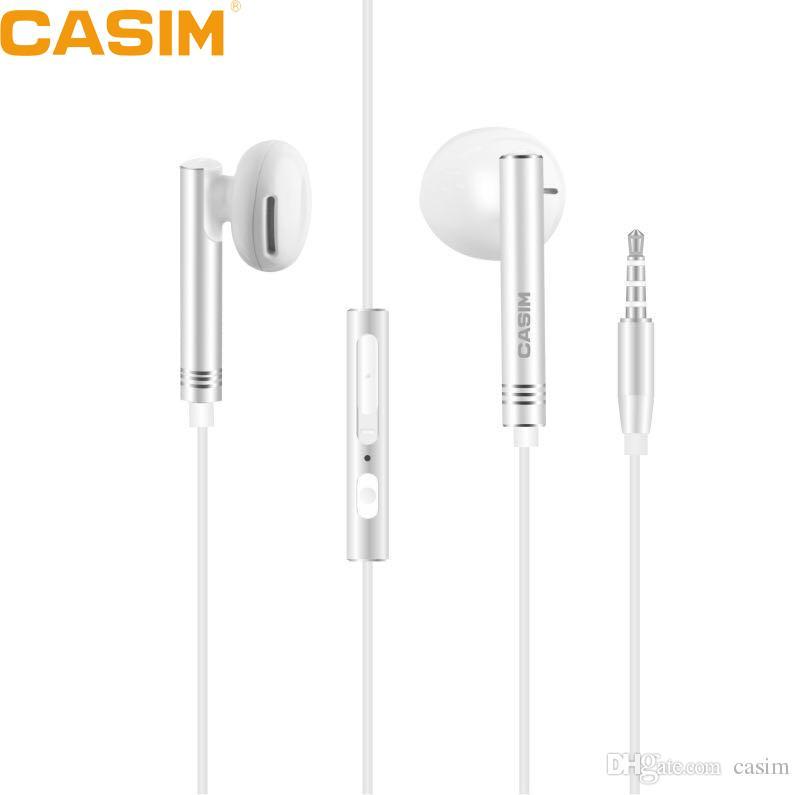 Magnificent Casim New 3 5Mm Universal Metal Music Earphone 1 2M Copper Wire Wiring Cloud Nuvitbieswglorg