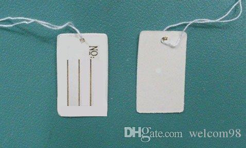 Label Tags Price Tags Card For Jewellery Gift Packaging Display 13mmX26mm LA7