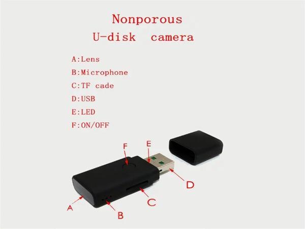USB Disk Mini DV DVR HD 1280*960 AVI USB Flash Drive Pinhole camera MINI U Disk Camera digital video recorder support Motion Detection