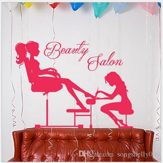 Nail Salon Wall Stickers Living Room Pvc Removable Waterproof Decorative  Paper Decal Wall Art Decal Wall Decor From Songshelly000, $18.4| Dhgate.Com Part 67