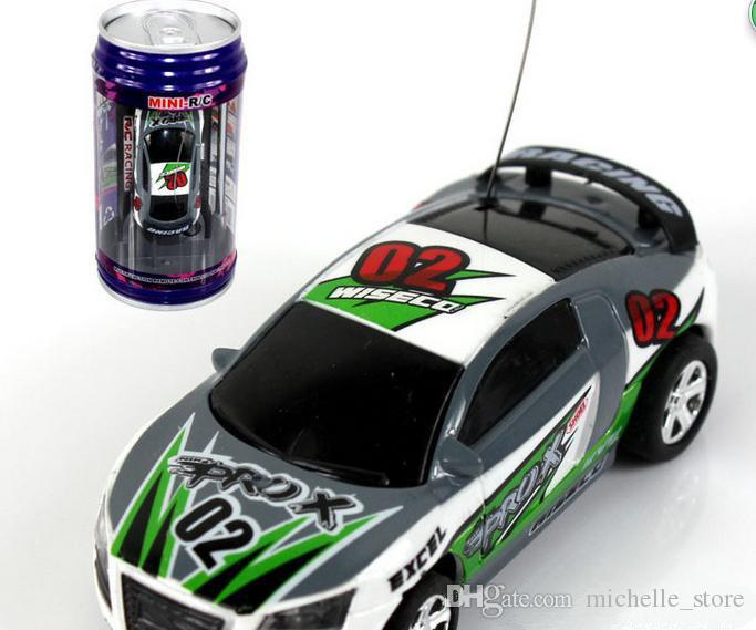 New Free Epacket Mini-Racer Remote Control Car Coke Can Mini RC Radio Remote Control Micro Racing 1:64 Car 8803