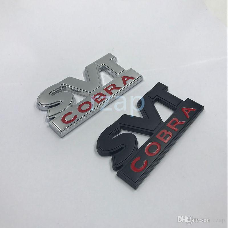 2019 Svt Cobra Car Trunk Lid Metal Emblem Badge For Ford 1999 2002