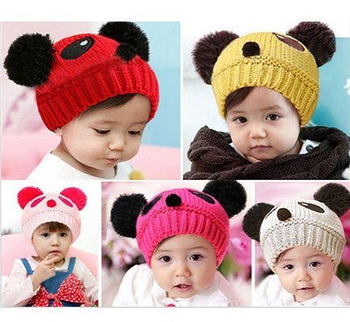 Crianças Cap Bebê Crochet Chapéus Meninos Meninas Chapéus Chapéus Animal Inverno Chapéus Infantil Beanie Hat Crianças Caps Moda Mão De Malha Caps