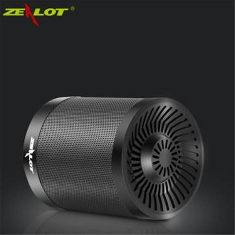 Wholesale- Zealot S5 2000mAh Mini Bluetooth Speaker Portable Speaker Powerful Enceinte Bluetooth Speakers Support USB TF card
