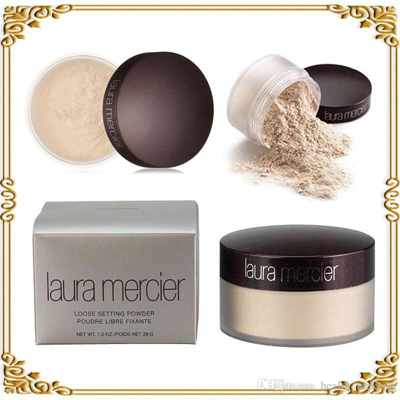 Shipping in 24 hours!! Laura Mercier Foundation Loose Setting Powder Fix Makeup Powder Min Pore Brighten Concealer