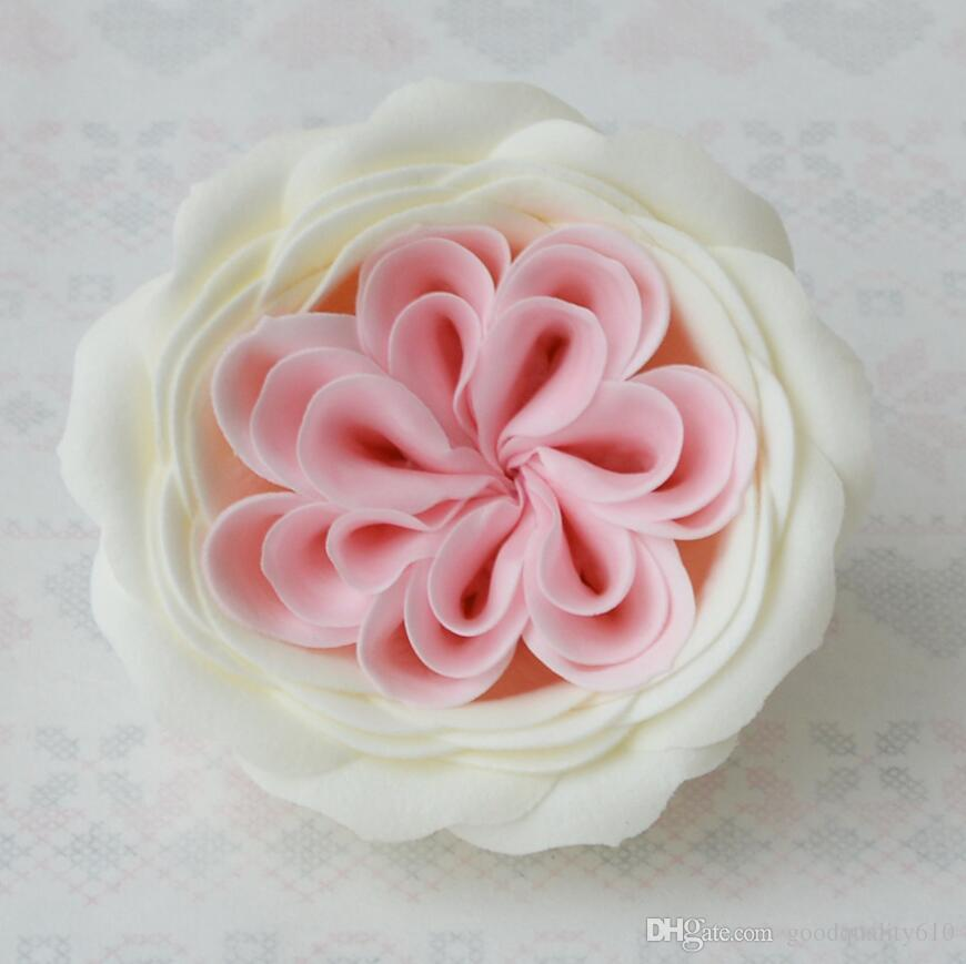 8cm Ecuador Rose Flower Soap For Wedding Party Birthday Souvenirs Gifts Favor Home Derorate
