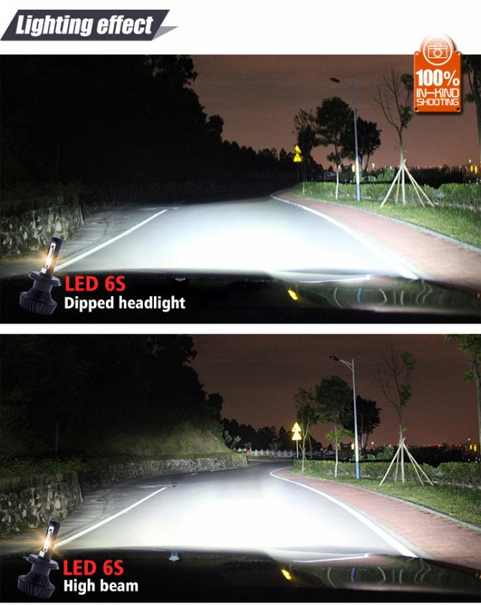 40W 4500LM Car LED Headlights H4 9004 9007 H13 high/low beam led bulbs replacement for bmw vw honda toyota jeep headlight