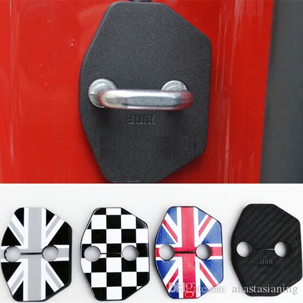 Car Styling For Mini Cooper R55 R56 Carbon Fiber Union Jack Door ...