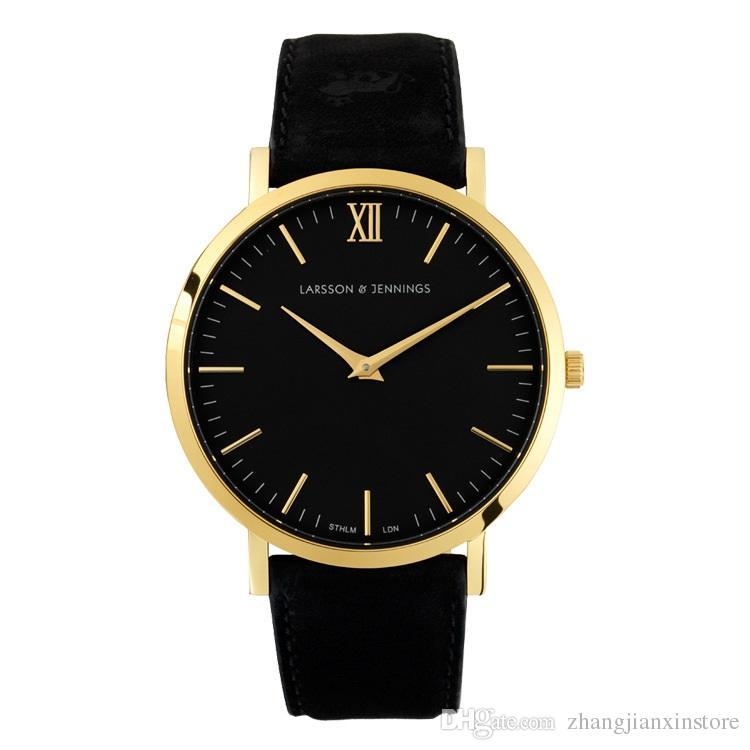 2017 Men Wrist Watch Men Slim Quartz Wristwatch Soft Leather Band ... b67484a8b2b