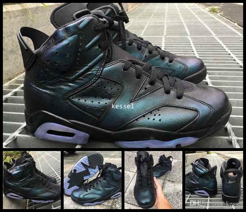 76cd9cf9f128e3 2017 All Star Chameleon 6 VI Basketball Shoes For Men Black Green Top Quality  All Star Mens 6s Sports Sneakers Size 8 13 Jordans Running Shoes From  Kessel
