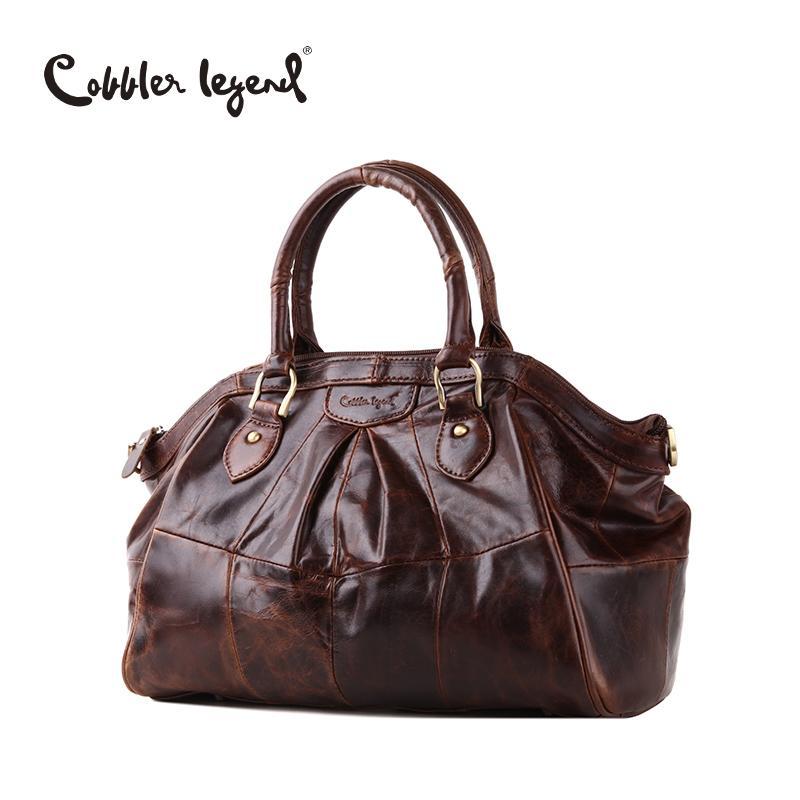 0ba54e3d76 Wholesale Cobbler Legend Brand Designer Women S Handbags Retro Genuine  Leather 2016 New Arrival Women Crossbody Bags Female Handbag 804217 Leather  Handbags ...