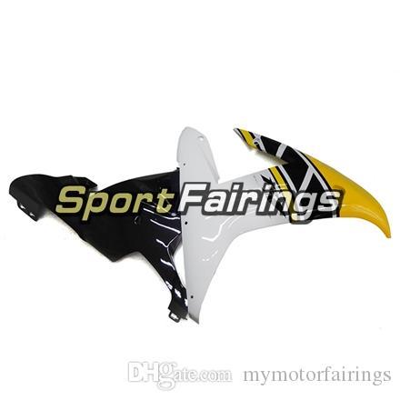 Full Fairings For Yamaha YZF1000 R1 YZF-R1 Year 2002 2003 02 03 Plastics ABS Motorcycle Fairing Kit Bodywork Yellow Black Cowlings