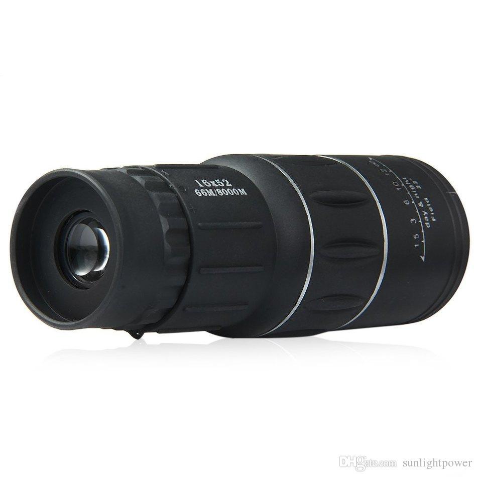 16x52 Dual Fokus Zoom Optic Lens Tag Nachtsicht Armoring Travel Monocular Teleskop Tourismus Umfang Fernglas Astronomische