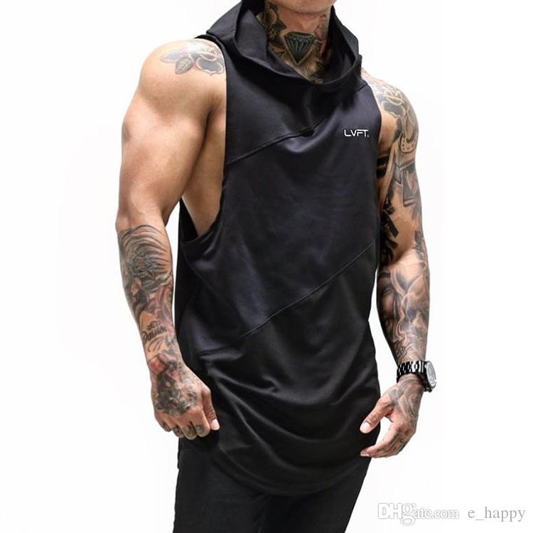 2018 Summer Sportswear Long Tank Top Mens Stringer Running